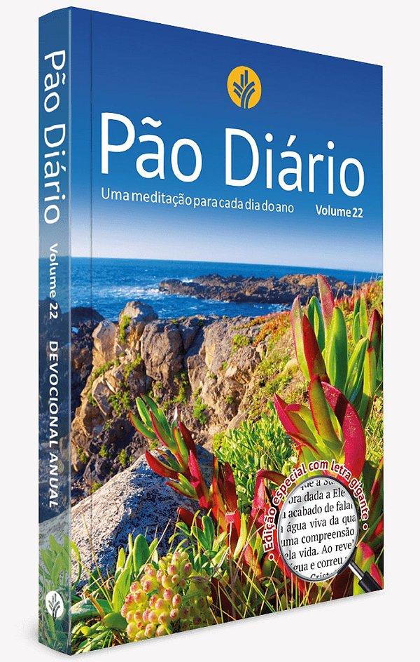 Pão Diário 2019 vol. 22 - Letra Grande - Paisagem