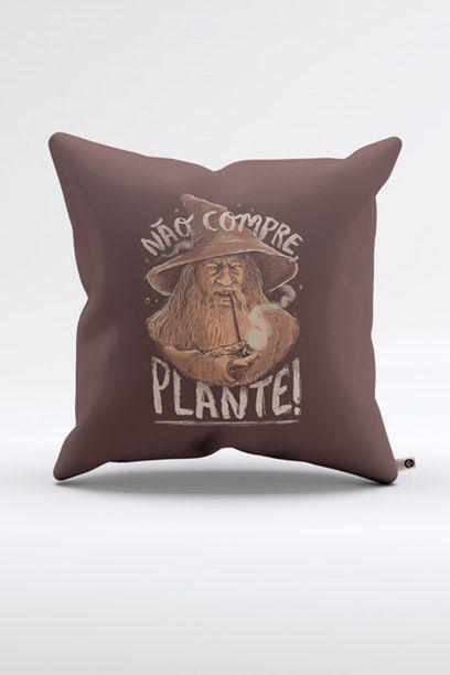 Almofada Nao Compre, Plante