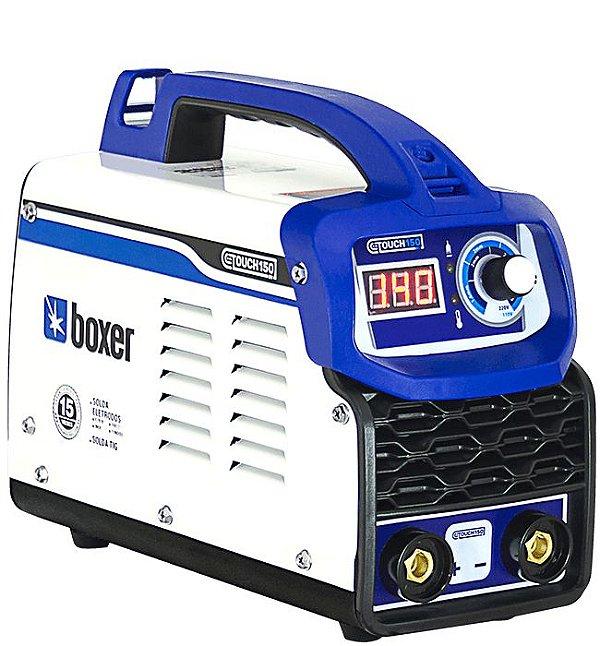 Inversora de Solda TOUCH150BV 150A Bivolt Boxer