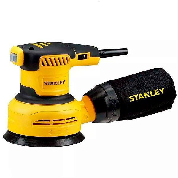 """Lixadeira Roto Orbital 5"""" SS30 300W Stanley"""