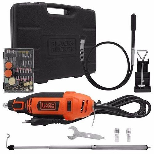 Microretifica 180W c/Kit RT18KA Black+Decker
