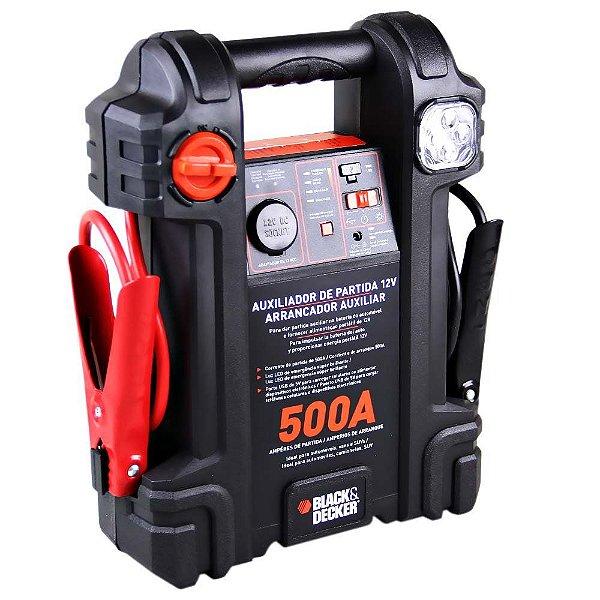 Auxiliar de Partida 500 Amperes 12V Black+Decker