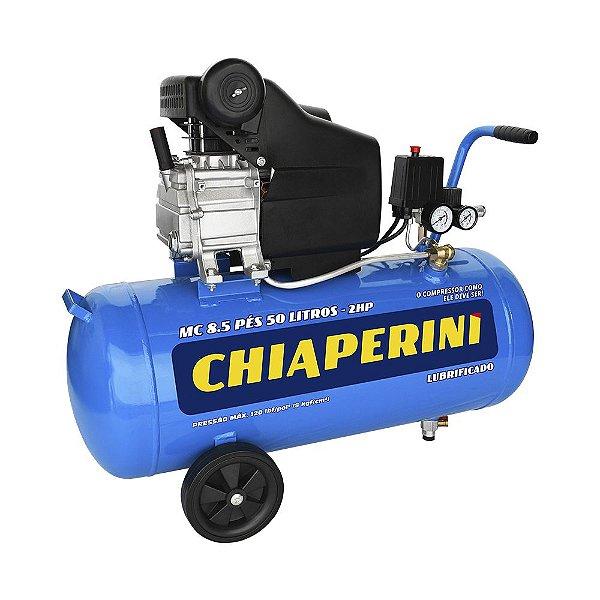 Compressor de Ar 50Lts 2HP 8.5P Chiaperini