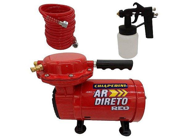 Compressor de Ar Direto Bivolt Red Chiaperini