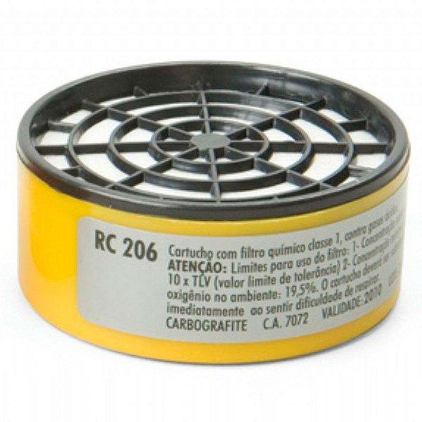 Filtro para Respirador RC206 Carbografite