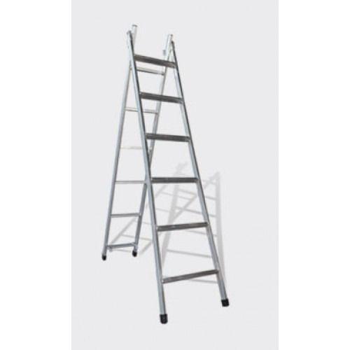 Escada Extensiva Metalon 6 Degraus ALG
