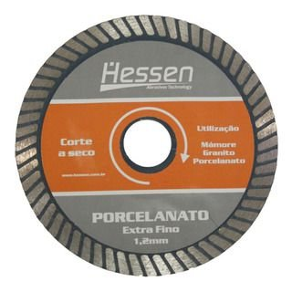 Disco Extra Fino de Corte para Porcelanato 110mm Hessen