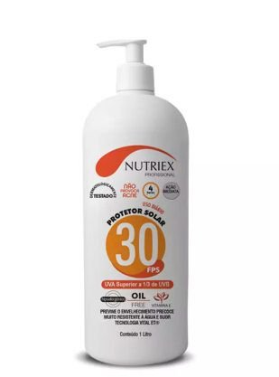 Protetor Solar  Fator 30  Nutriex 1L