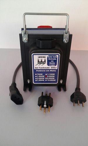 Transformador de Voltagem 127V/220V - Várias Potências JW