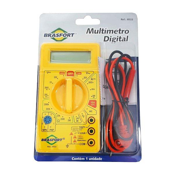 Multimetro Digital 8522 Brasfort