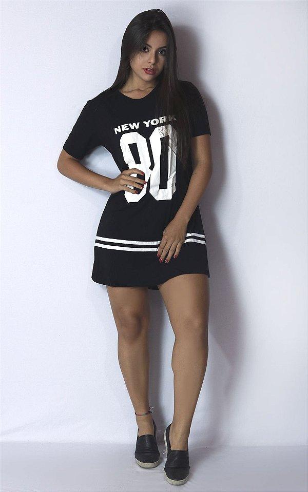 Camisa Longline NY Swag