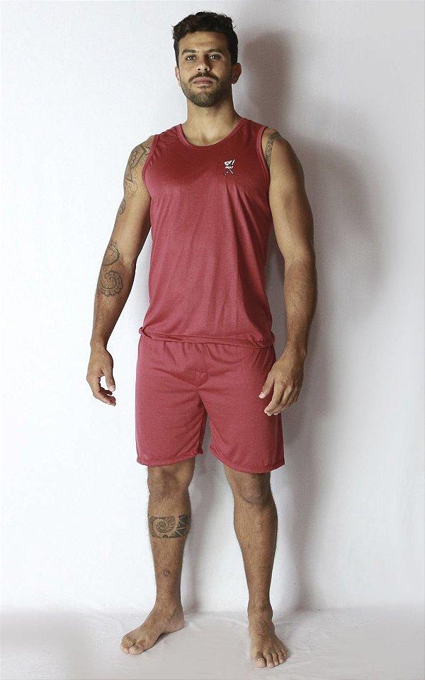 Pijama Curto Regata Masculino