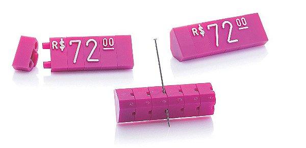 Kit de Preços (255 Peças) - Rosa com Branco