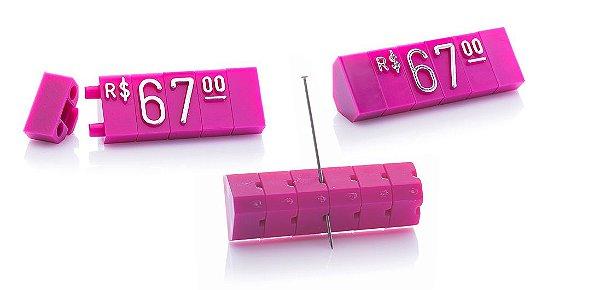 Kit de Preços (510 Peças) - Rosa com Prata
