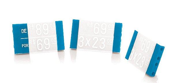 Acessório Duplo de Vestuário (60 peças) - Azul com Branco