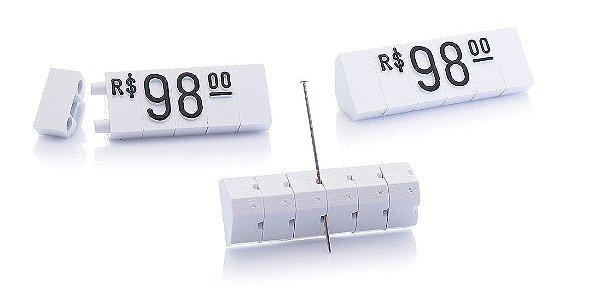 Kit de Preços (510 Peças) - Branco com Preto
