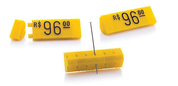 Kit de Preços (255 Peças) - Amarelo com Preto