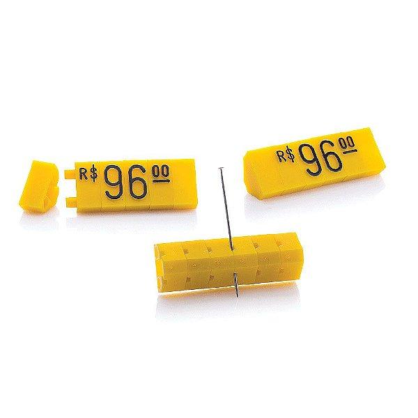 Kit de Preços (170 Peças) - Amarelo com Preto