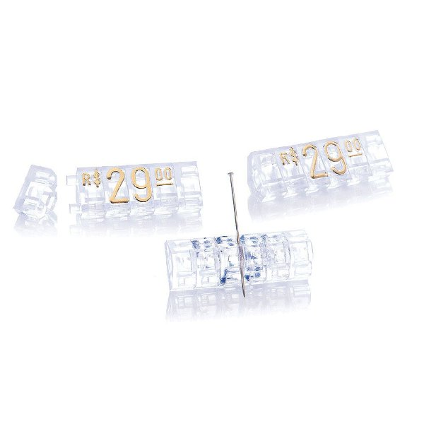 Kit de Preços (170 Peças) - Cristal com Dourado