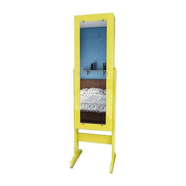 Espelho Porta Jóias De Corpo yellow