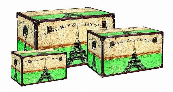 Caixa BAU 3 Peças Paris MART