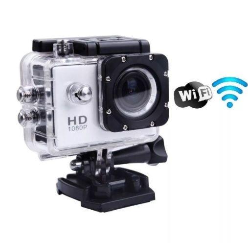 Câmera Filmadora Sports HD DV 1080P wi-fi waterproof 30m