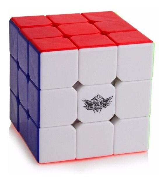 Cubo Mágico Pro Cyclone Boys 3 X 3 X 3 Stickerless Top
