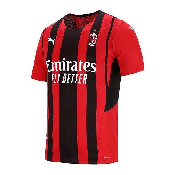 Camisa Milan I 2021/22 – Masculina
