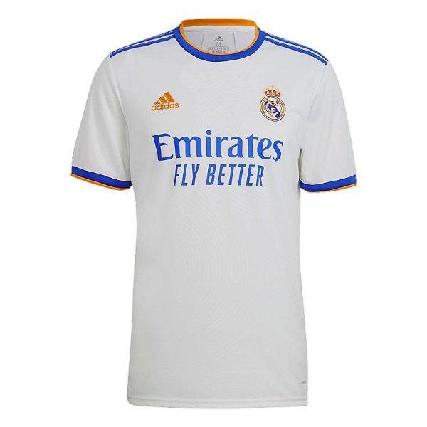 Camisa Real Madrid I 2021/22 – Masculina