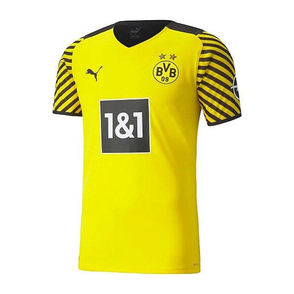 Camisa Borussia Dortmund I 2021/22 – Masculina
