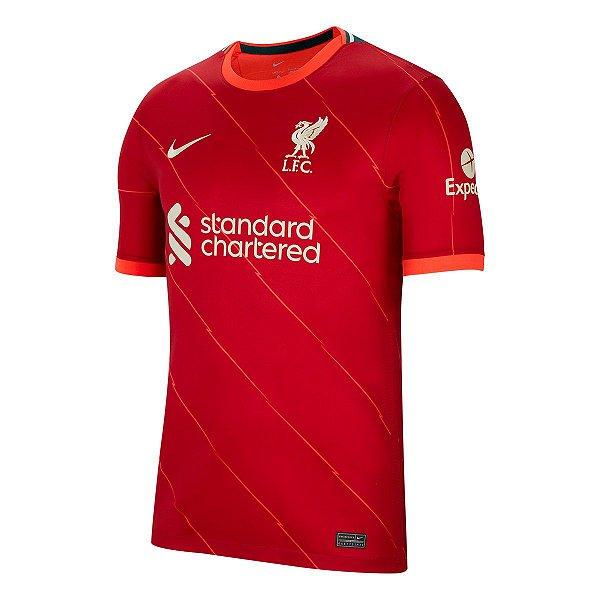 Camisa Liverpool I 2021/22 – Masculina