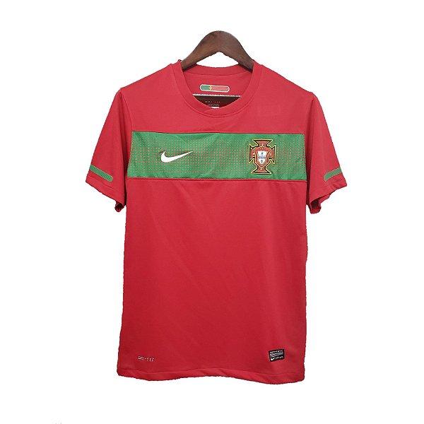 Camisa Portugal Retrô 2010 - Masculina