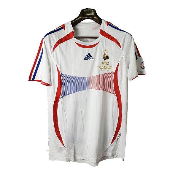 Camisa França Retrô 2006 - Masculina