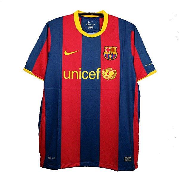 Camisa Barcelona Retrô 2010/11 - Masculina