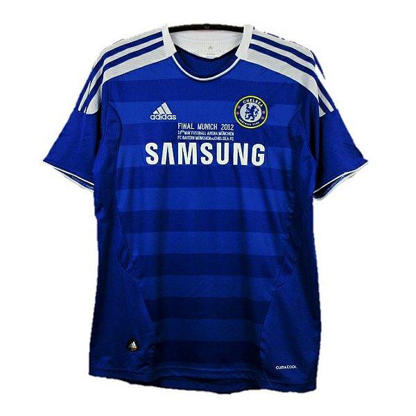 Camisa Chelsea Retrô Final UCL 2011/12 - Masculina