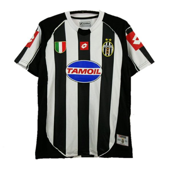 Camisa Juventus Retrô 2002/03 - Masculina