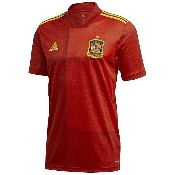 Camisa Espanha I 2020/21 – Masculina