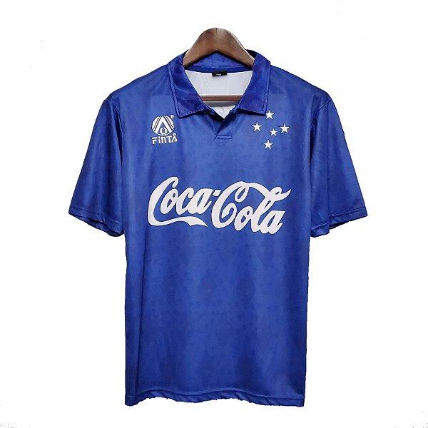 Camisa Cruzeiro Retrô 1993/94 - Masculina