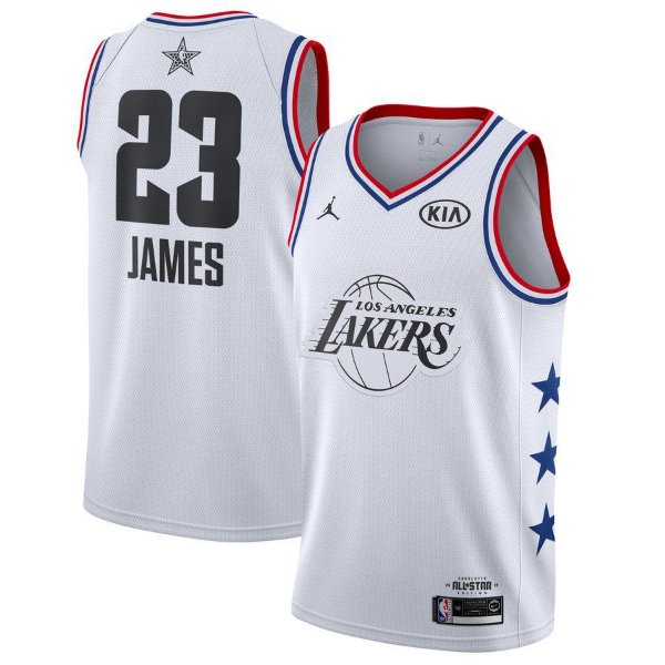 Camisa Lakers 23 White All-Star - Masculina
