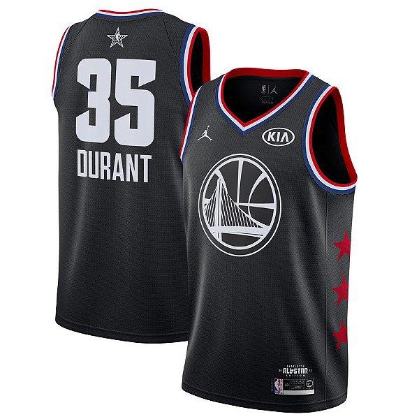 Camisa Warriors 35 Black All-Star - Masculina