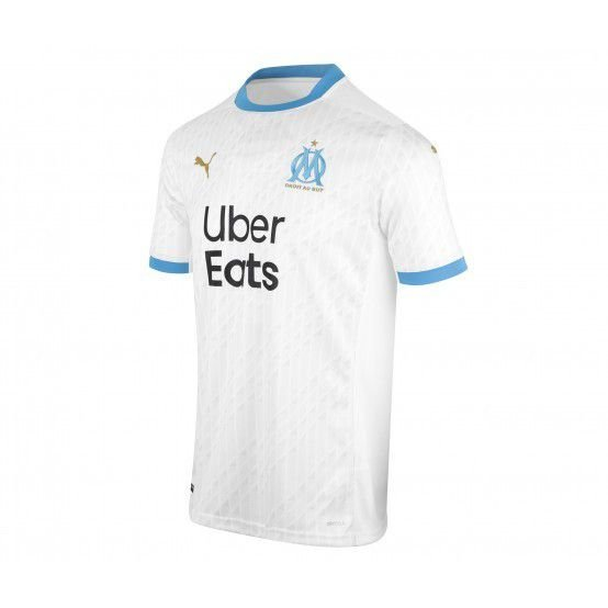 Camisa Olympique de Marseille I 2020/21 - Masculina