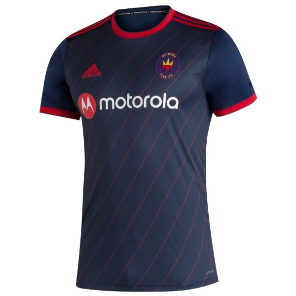 Camisa Chicago Fire I 2020/21 - Masculina