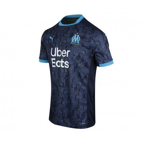 Camisa Olympique de Marseille II 2020/21 - Masculina