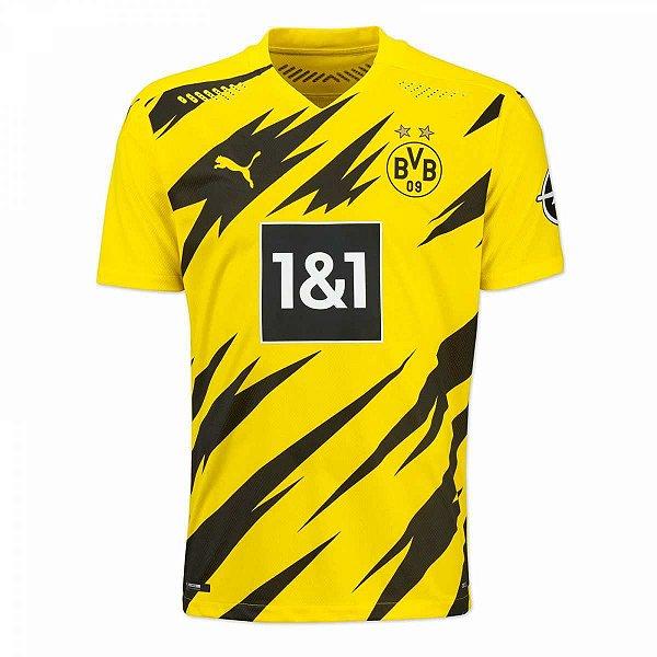 Camisa Borussia Dortmund I 2020/21 – Masculina