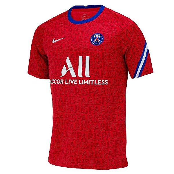 Camisa PSG Pré-Jogo 2020/21 – Masculina