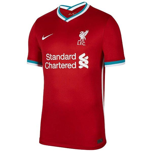 Camisa Liverpool I 2020/21 – Masculina