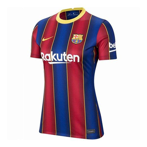 Camisa Barcelona I 2020/21 - Feminina
