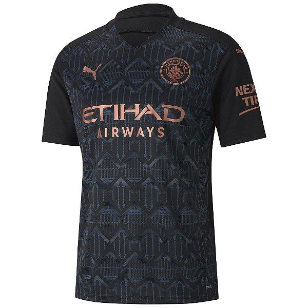 Camisa Manchester City II 2020/21 - Masculina