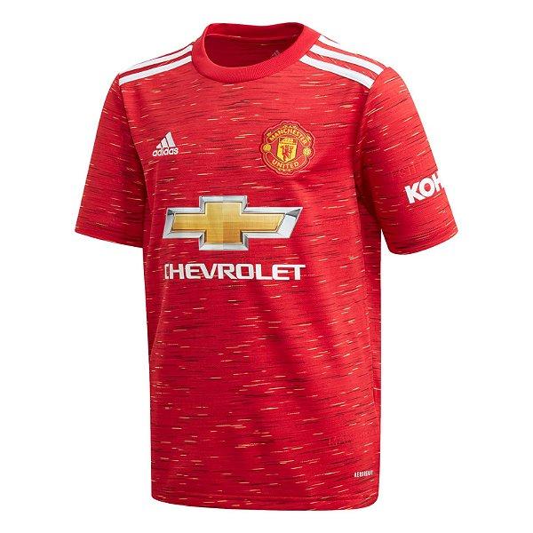 Camisa Manchester United I 2020/21 – Masculina