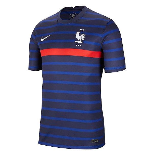 Camisa França I 2020/21 – Masculina